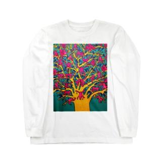 モンキーツリー Long sleeve T-shirts