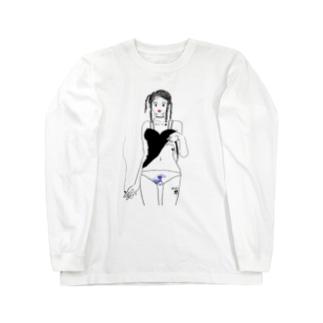 おパンツ Long sleeve T-shirts
