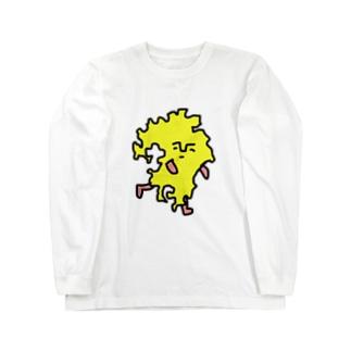 クスオくん(九州男) Long sleeve T-shirts
