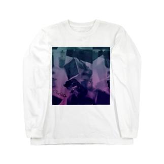 にこにこにこちん Long sleeve T-shirts