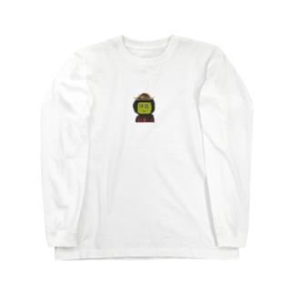 まえだまえだ背景なし Long sleeve T-shirts