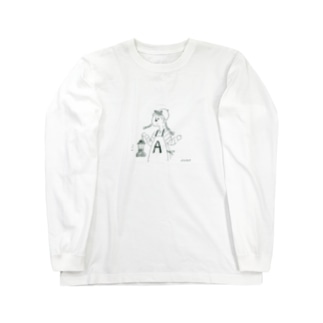 A子 Long sleeve T-shirts