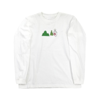 OurWouldの山﨑 Long sleeve T-shirts