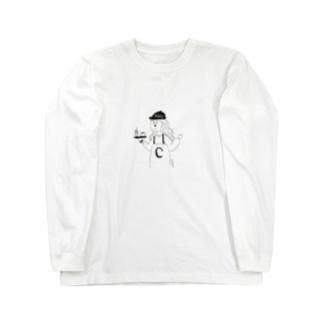 C子はビタミンC推し Long sleeve T-shirts
