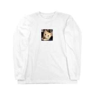 可愛い猫ちゃん💓 Long sleeve T-shirts