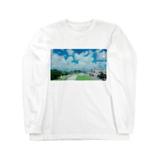 さーちゃん💓の沖縄の風景💓 Long sleeve T-shirts