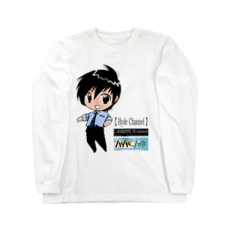 Hyde (YouTubeキャラクター) Long sleeve T-shirts
