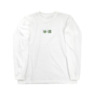 知の器 Long sleeve T-shirts