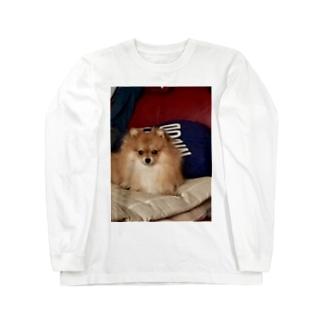 キリッと桃ちゃん Long sleeve T-shirts
