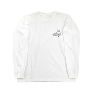 アリ見るうさお Long sleeve T-shirts