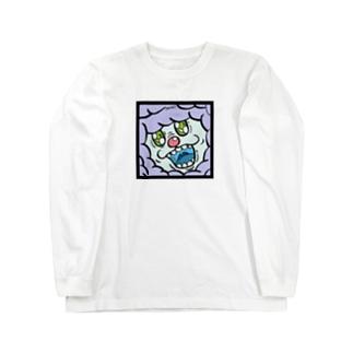 ハヌマーン・FEAR FACE Long sleeve T-shirts