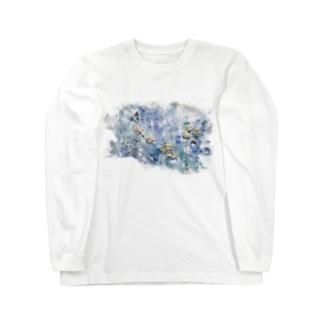 dry flower Long sleeve T-shirts