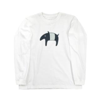 ゆめをバクバク Long sleeve T-shirts