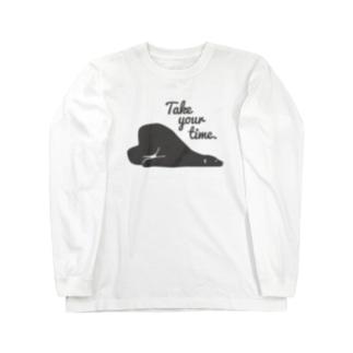 シロクマ(take your time)BL Long sleeve T-shirts