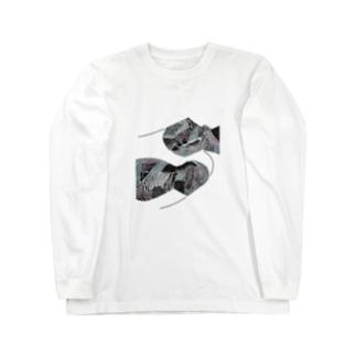 山脈 Long sleeve T-shirts