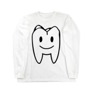 大臼歯くん Long sleeve T-shirts