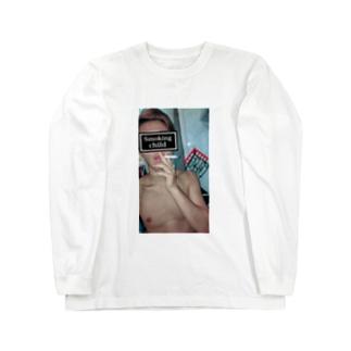 赤髪のシャンくす(覇気ver) Long sleeve T-shirts