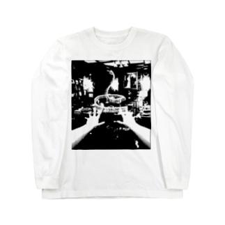 ヘビヤカタ Long sleeve T-shirts