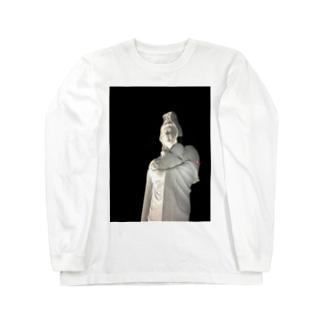 地元の観音シリーズ Long sleeve T-shirts