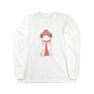 武則猫 Long sleeve T-shirts