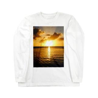 あの日みた夕焼け  Long sleeve T-shirts
