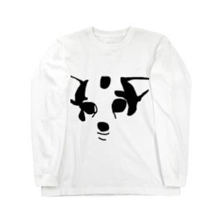 ハゲチワワ Long sleeve T-shirts