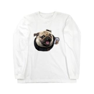 修道士 パグのパグ―グッズ Long sleeve T-shirts
