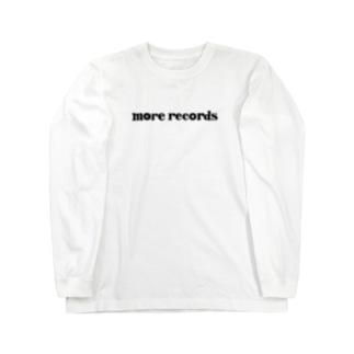 モアレコ文字ロゴ Long sleeve T-shirts