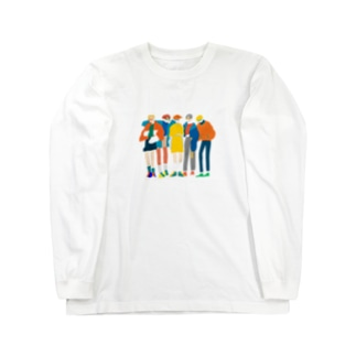 めがねボーイズ Long sleeve T-shirts