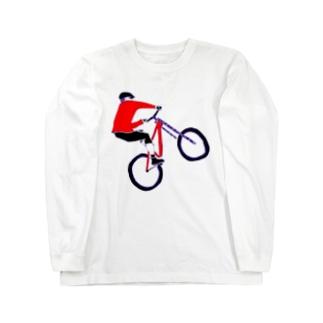 MTBデザイン「RIDE」 Long sleeve T-shirts