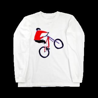 NIKORASU GOのMTBデザイン「RIDE」 Long sleeve T-shirts