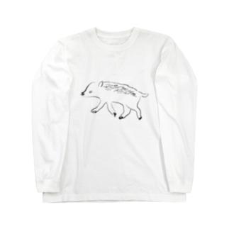 ヰ Long sleeve T-shirts