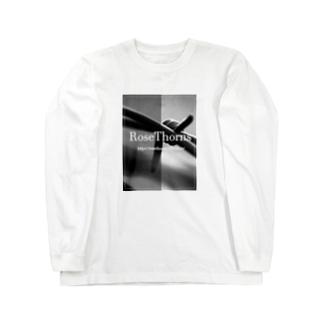 RoseThorns monotone Long sleeve T-shirts