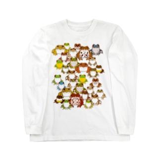 日本のカエル Long sleeve T-shirts