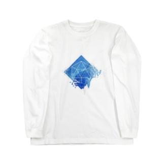 崩れのシンメトリー Long sleeve T-shirts