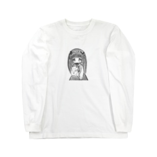 ヘドレのリボンで首を吊る事を心に決めてる女の子 Long sleeve T-shirts