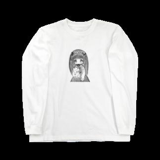 怪しくないお店ですのヘドレのリボンで首を吊る事を心に決めてる女の子 Long sleeve T-shirts