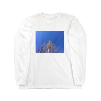 晴れた日のメタセコイア Long sleeve T-shirts