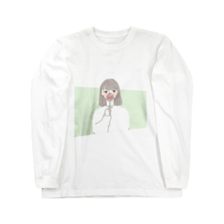 ワタシ Long sleeve T-shirts