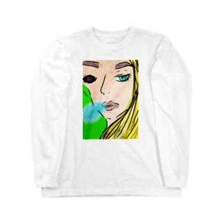 blonde Long sleeve T-shirts