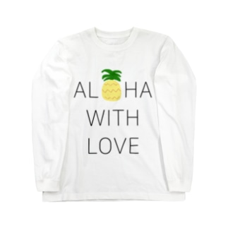 ALOHA PINEAPPLE Long sleeve T-shirts