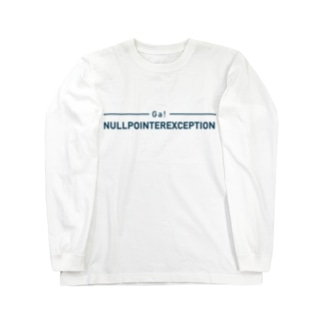 ぬるぽ Long sleeve T-shirts