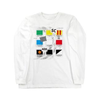 Motorsports FLAGs Long sleeve T-shirts