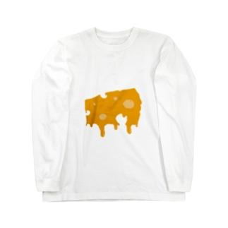 とろけエメンタ〜ルチ〜ズ Long sleeve T-shirts