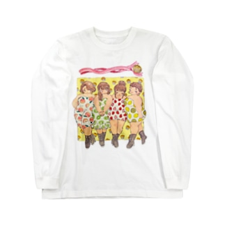 Curvy fruits girls! Long sleeve T-shirts