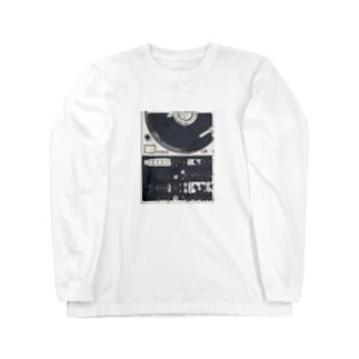 ターンテーブリスト Long sleeve T-shirts