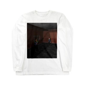 青の進路 Long sleeve T-shirts