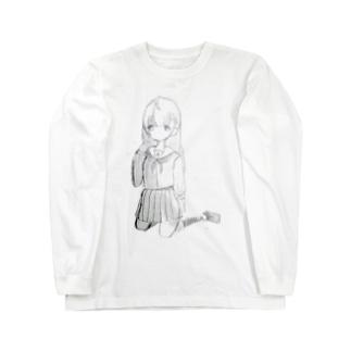 蜀・逡繰K 冥界JK Long sleeve T-shirts
