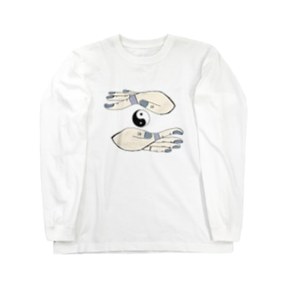 対極天 Long sleeve T-shirts