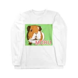 MORUちゃん Long sleeve T-shirts